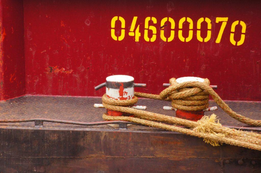 Absendernummer am SchiffsKai